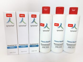 TRIO – Synovital-Set: Fitness-Booster und Muskelvital-Gel