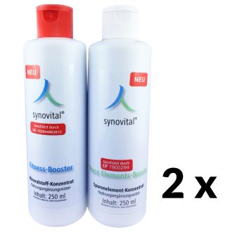 2 x Synovital Fitness-Booster + Trace Elements-Booster