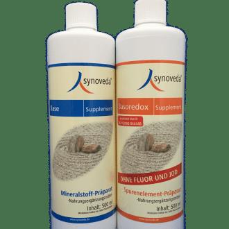 Synoveda-Base und Basoredox-Supplement 500ml