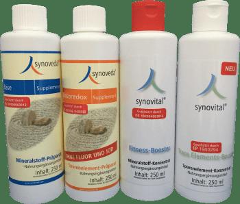 Mineralstoffe + Spurenelemente - Grundversorgung + Spitzenversorgung